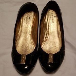 Kate Spade Black Flats